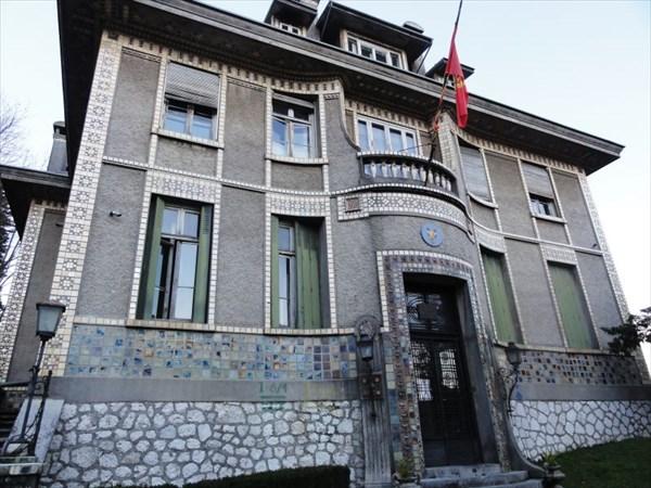 Бывшее французское посольство.