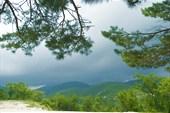 Вид с небольшого перевала после Прасковеевки
