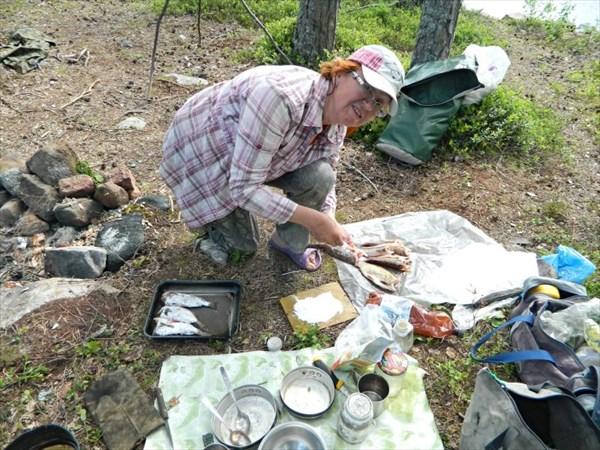 Подготовка рыбы для жарки