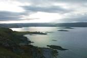 На мысу около Конгсфьорд (Kongsfjord)