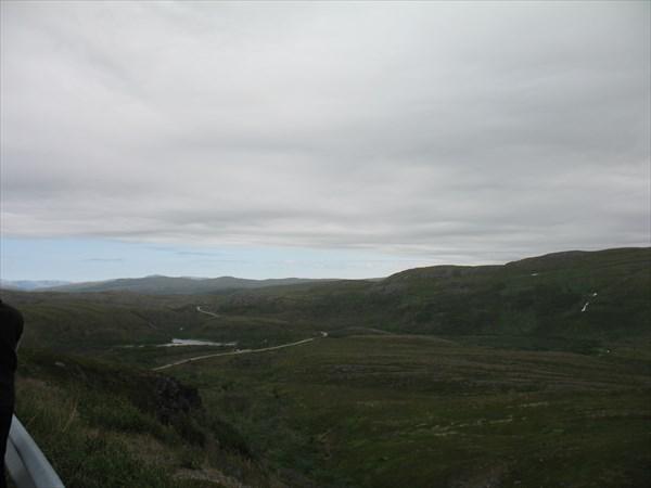 Смотровая точка с дороги № 98