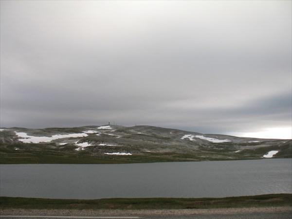 В горах на дороге  890 к г. Берливог (полуостров Варангер)