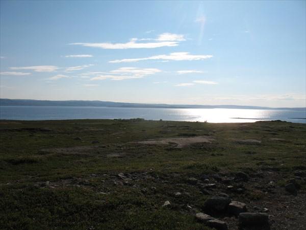 Вид на  фьорд Варангер