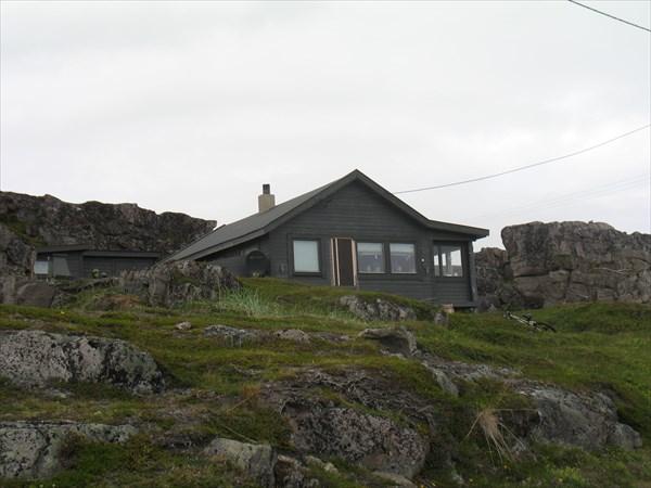 Дома в скалы вросли