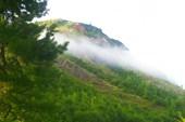 Вид с устья р. Сайбат