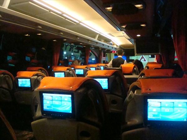В салоне автобуса
