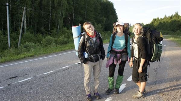 Тверь-Кимры на пути с Незденово в Бородино
