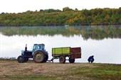 Фото 6. Леха, трактор и пирога
