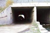 Фото 10. Стог ползет через тоннель