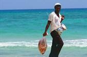 Пляжный работник