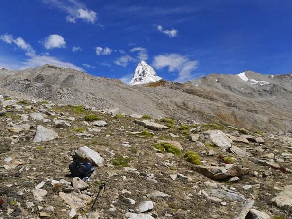 Рывок вверх в сторону вершины Рео Паргъял. Два - 5000 м