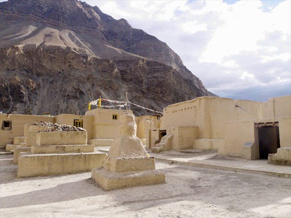 Монастырь Табо не сильно изменился с 9-го века