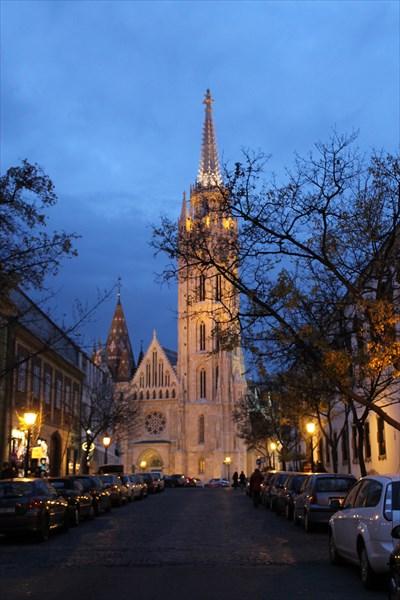 Церковь Святого Матьяша
