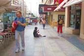 Одна из центральных улиц Мадрида