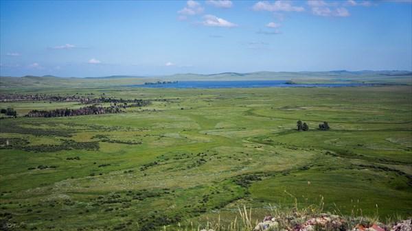 Озеро Фыркал с г. Абыяххая
