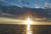 Закат над Белым морем