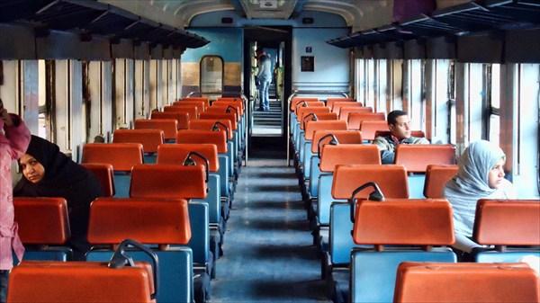 Поезд Луксор - Бени-Суэйф