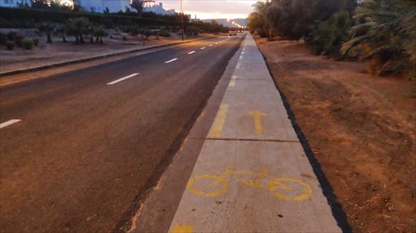 Велодорожка в Эль Гуна