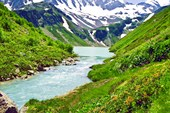 Озеро `Тонгуз орун`.