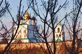 Псков - вид из гостиницы Ольгинская 1