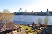 Псков - вид с Ольгинского моста