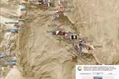 Карта Цветного каньона