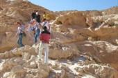 Спуск в Цветной каньон