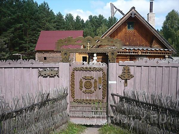 Деревня Окунёво. Инопланетный туристический рай в Сибири  - фото 1