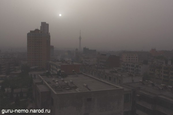 Пыльное Кашгарское утро