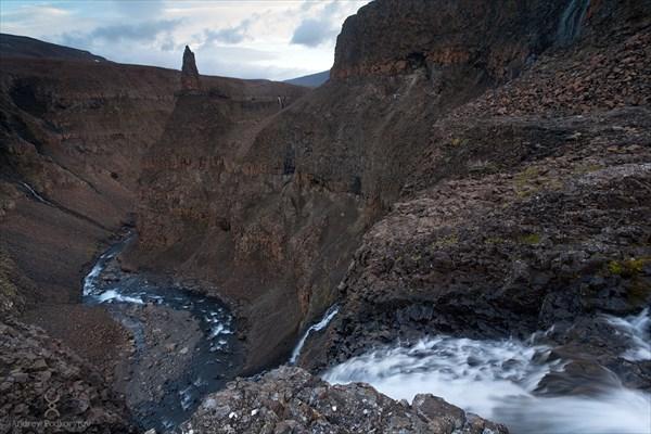Верховья реки Ниж.Хикикаль. Плато Путорана.