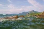Волнение на озере Боровое