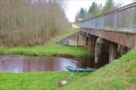 Мост на дороге Белавино-Духново