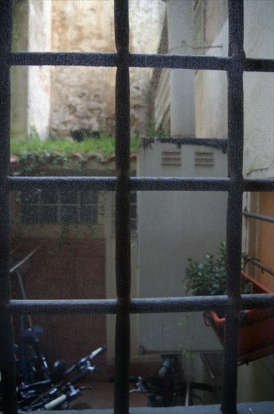 Внутренний дворик наших апартаментов