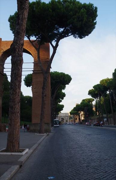 Остатки акведука
