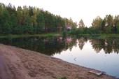 Наконец-то мы нашли эту реку, которая на самом деле - озеро!