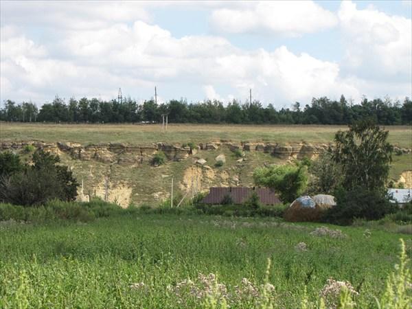 Вид из деревни Весёлая