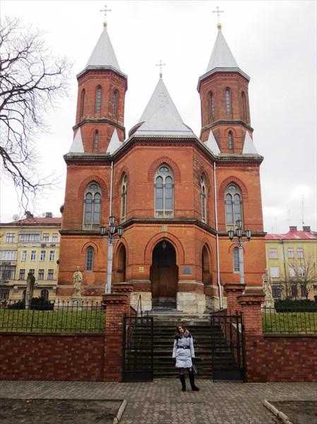 Церковь Петра и Павла (Армянская церковь) (1869-75) Черновцы