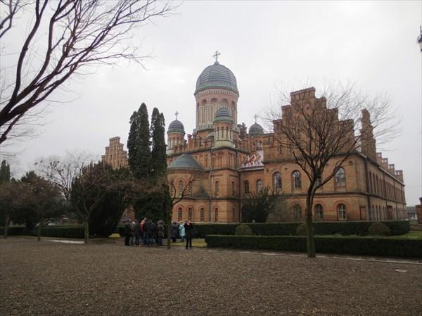 Резиденция Буковинских Митрополитов (Черновицкий университет)