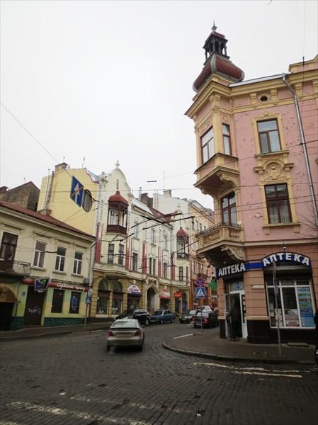 Жилой дом кон 19 в, Черновцы