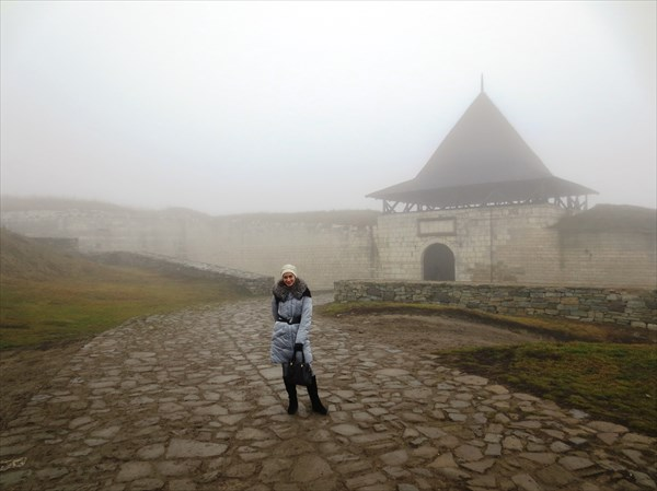 Бендерские ворота Хотинской крепости