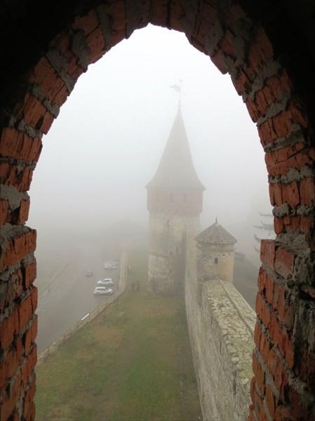 Каменец-Подольская крепость кон. 14 в
