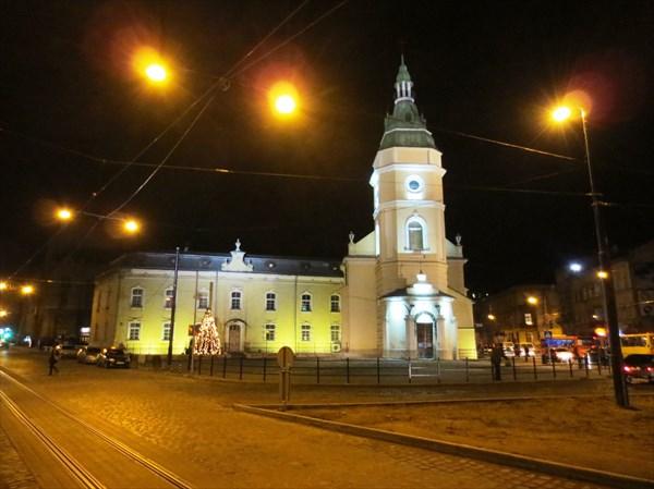 Церковь Анны (Львов) 1730 г
