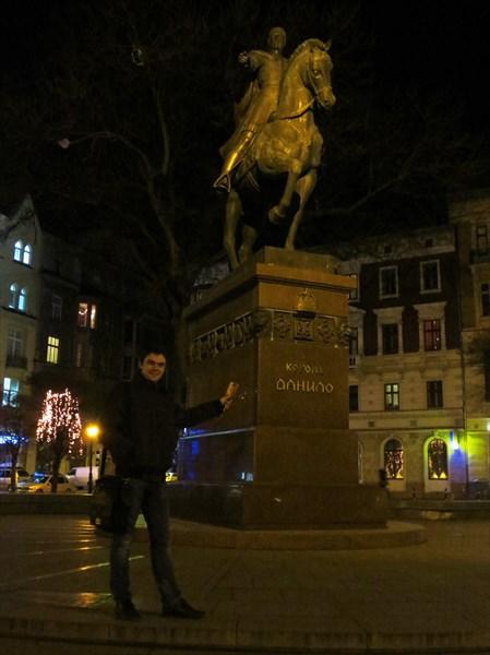 Памятник Даниилу Галицкому (Львов)