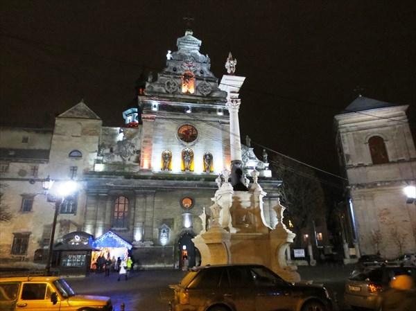 Костёл Святого Андрея (УГКЦ) (Львов)1600—1630
