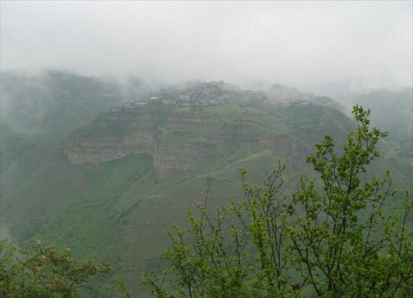 Заброшенное село на вершине горы