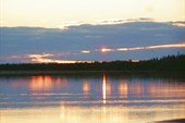 Закат около Ломбовожа