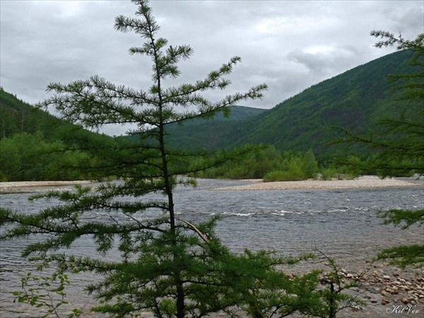 Река Хани у притока Эвонокит