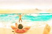 Безумно красивое море Канкуна