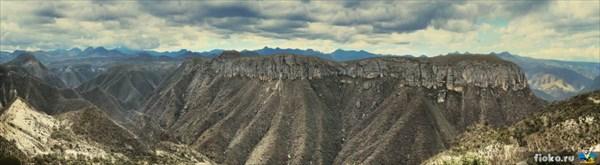 Каньоны близ Теуакана