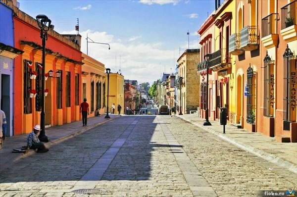 Уютные улочки Оахака